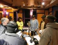 Vets Haven in the studio
